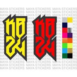 Kobe Bryant KB 24 logo stickers for cars, bikes, laptops, mobile