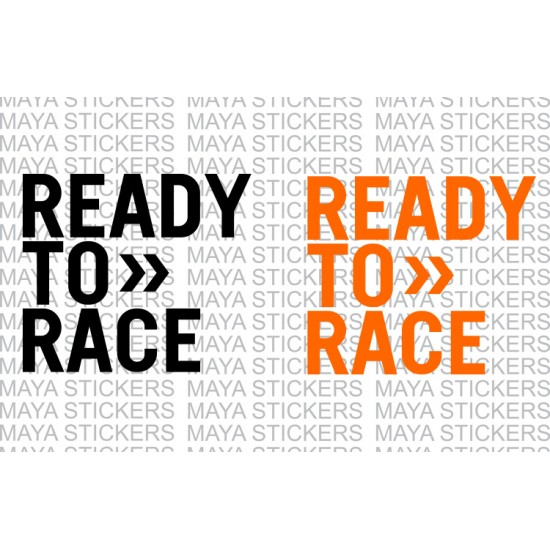 ready to race stickers for ktm bikes racing stickers available in