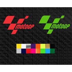 Motogp logo stickers for motorcycles, helmets and cars
