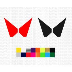 Mahindra SUVs new 2021 logo stickers for all Mahindra SUVs