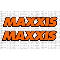 Maxxis tires logo decal sticker for cars and bikes