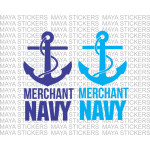 Merchant Navy stickers for Cars, Motorcycles