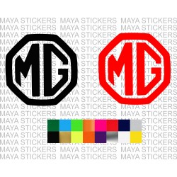 MG - Morris Garages logo decal sticker in custom colors and sizes