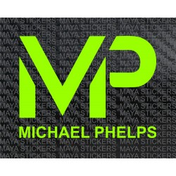 Michael Phelps logo decal stickers