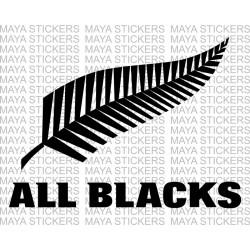 All Blacks - New Zealand Rugby Team logo decals