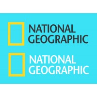 National Geographic logo decal sticker for cars, bikes, laptops