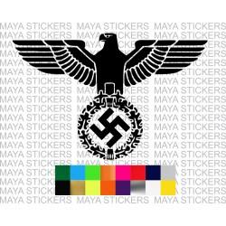 German Iron eagle - Reichsadler decal stickers