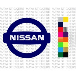 Nissan logo decal stickers