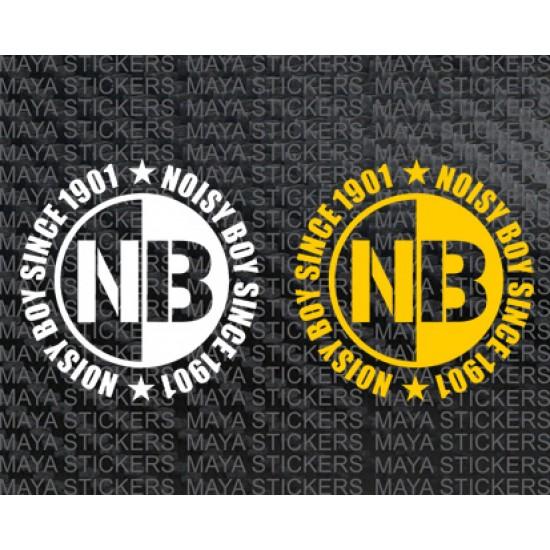 Noisy boy since 1901 royal enfield sticker