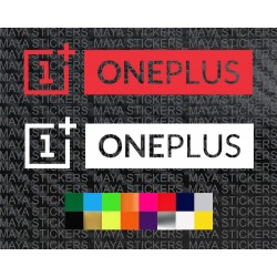 One Plus logo sticker