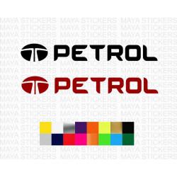 Petrol fuel cap stickers for TATA cars
