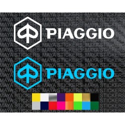 Piaggio logo decal stickers for Bikes, scooters and others