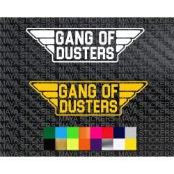Gang of dusters logo stickers for Renault Duster ( 2 stickers )