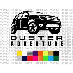 Renault duster adventure decal sticker in custom colors