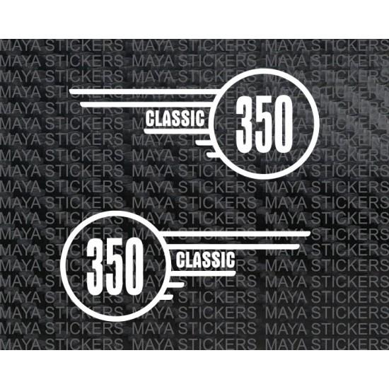 Royal Enfield Classic 350 Tool Box Sticker