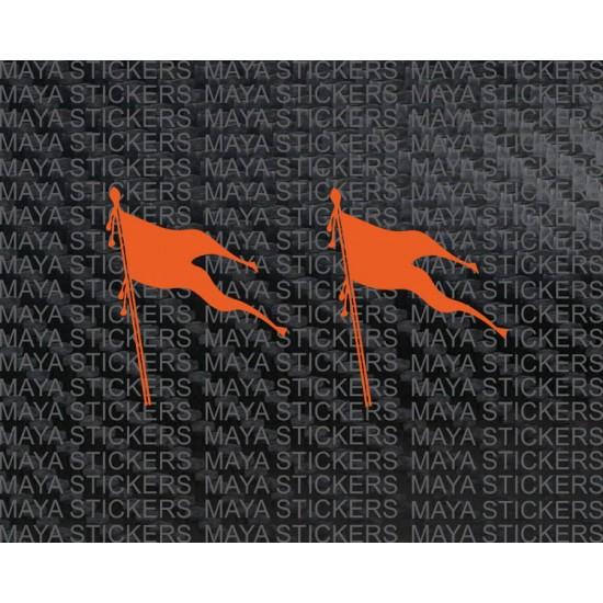 Rashtriya Swayamsevak Sangh Flag Stickers