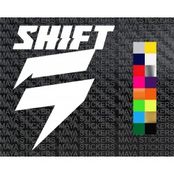Shift MX logo decal sticker for Motorcycles