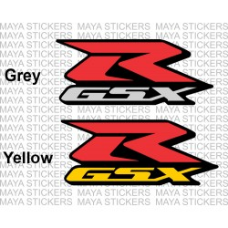 Suzuki GSXR logo 3 color design ( Pair of 2 )