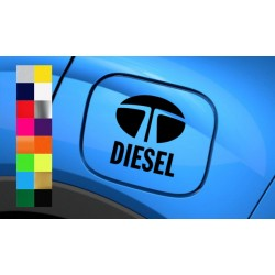 Diesel fuel cap sticker for TATA car and SUVs