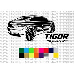 Tata tigor sport decal stickers