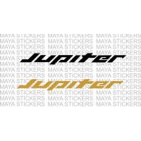 TVS Jupiter logo decal stickers. (2 stickers )