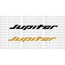 TVS Jupiter logo decal stickers. (2 stickers )