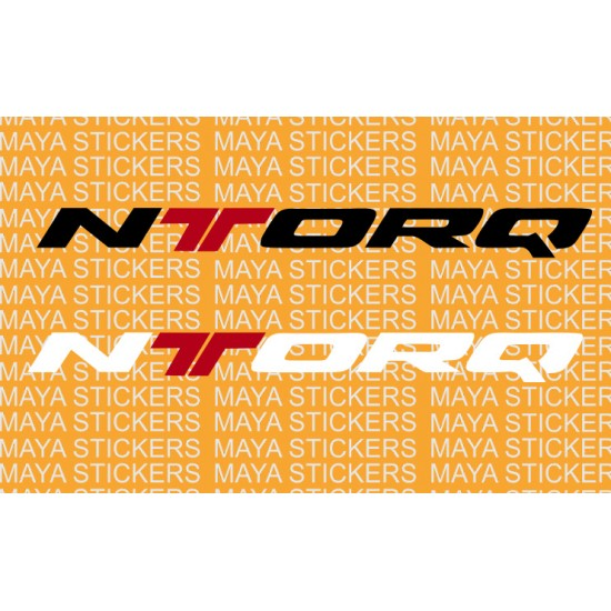 TVS Ntorq Logo Sticker In Custom Colors And Sizes