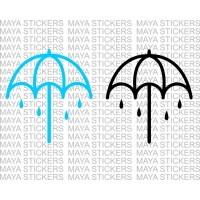 Umbrella logo sticker of Bring me the Horizon - BMTH