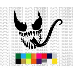 Venom stickers for cars, bikes, laptops and helmet