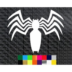 Venom spider emblem decal sticker for cars, bikes, laptops, mobile, helmet
