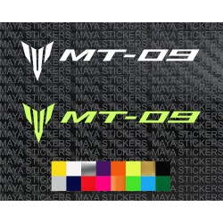 Yamaha MT 09 logo stickers