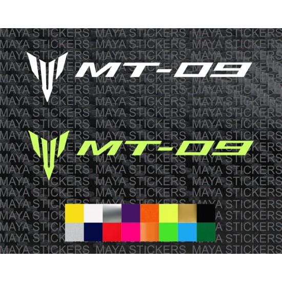 Yamaha Mt 09 Logo Stickers