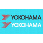Yokohama tyres logo decal sticker for cars and bikes