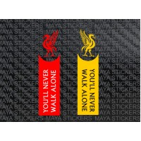 You will never walk alone - LFC slogan sticker