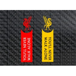 You will never walk alone - LFC slogan sticker