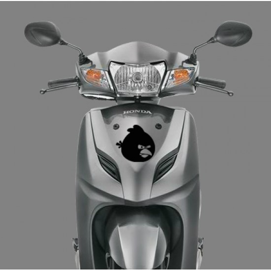 Angry birds decal for honda activa dio and other scooters cars and laptop