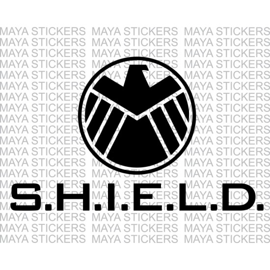 Avengers shield logo sticker for cars bikes laptop helmets