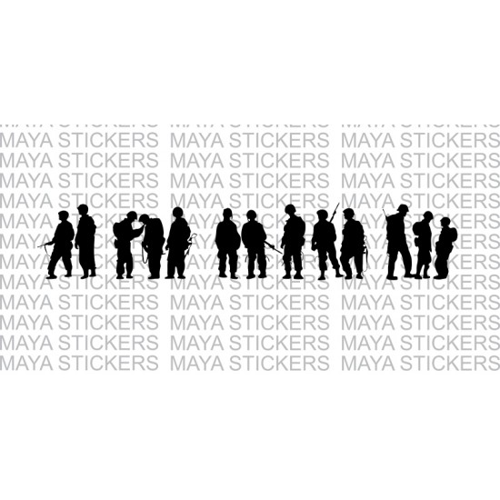 Band Of Brothers Stickers