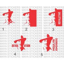 Bhagat singh custom designed stickers for Cars / bikes / Laptop