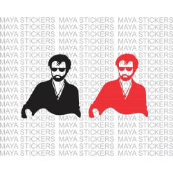 Rajinikanth kabali stickers for cars, bikes, laptop