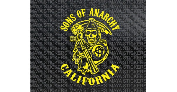 Sons Of Anarchy Reaper Decals For Motorcycles