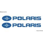 Polaris logo  sticker / decal for ATVs, Cars and bikes
