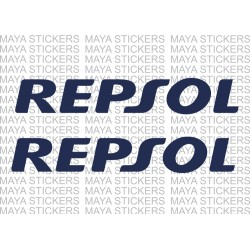 Repsol Logo sticker for Honda bike forks and other places.