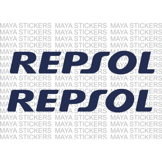 Repsol logo sticker for honda bike forks and other places