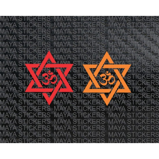 Om Sticker Decal For Cars Bikes Laptop