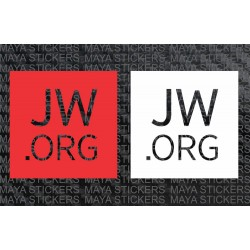 JW.org stickers / decals for cars, bikes, laptop