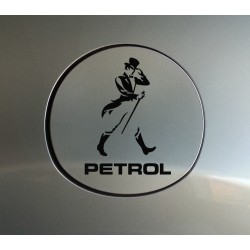 Johnnie walker petrol fuel cap sticker for cars