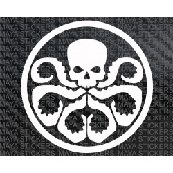Hydra Avengers logo sticker/ decal for Cars, Bikes, Laptop