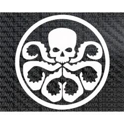 Hydra Avengers logo sticker/ decal for Cars, Bikes, Laptop