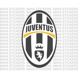Juventus FC football club logo stickers / decal - 3 color